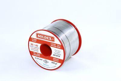 Soldex 0.75 mm 500 g Lehim Teli (%60 Sn / %40 Pb)