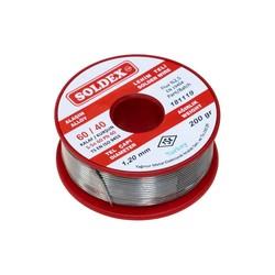 Soldex - Soldex 1.2 mm 200 g Lehim Teli (%60 Sn / %40 Pb)