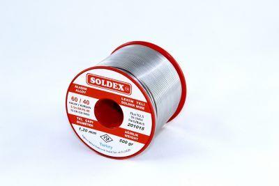 Soldex 1.2 mm 500 g Lehim Teli (%60 Sn / %40 Pb)