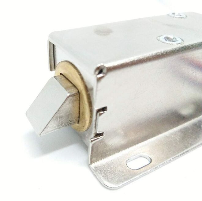 Solenoid Lock Latch 12 V - (27x15x17 mm)