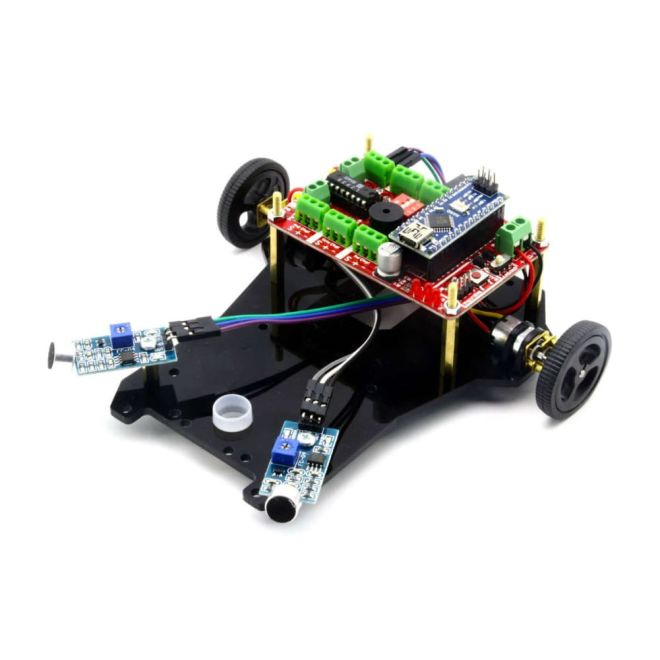 Sound Follow Robot Kit - Diano (Disassembled)