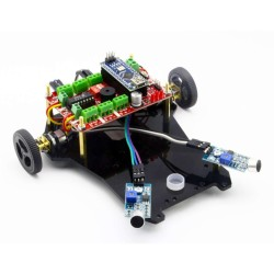 Sound Follow Robot Kit - Diano (Disassembled) - Thumbnail