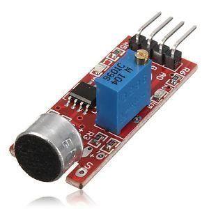 Sound Sensor Card (4-pin)