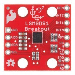 SparkFun 9 DOF IMU - 9 Degrees of Freedom IMU Breakout - LSM9DS1 - Thumbnail