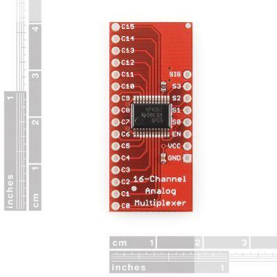 SparkFun Analog/Digital MUX Breakout CD74HC4067