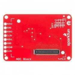 SparkFun Block for Intel® - ADC - Thumbnail