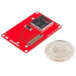 SparkFun Block for Intel® Edison - microSD - Thumbnail
