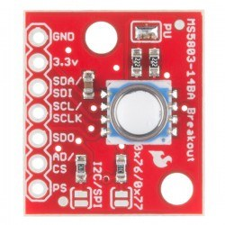 SparkFun Çoklu Basınç Sensörü - MS5803-14BA - Thumbnail