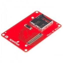 Sparkfun - SparkFun Intel® Edison için Blok - microSD