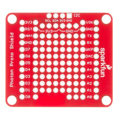 SparkFun Photon ProtoShield