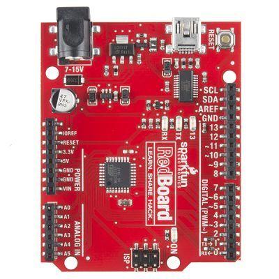 SparkFun RedBoard Arduino Kartı - Programmed with Arduino
