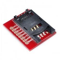 Sparkfun - SparkFun Sim Kart Soketi Kartı - SIM Card Socket Breakout