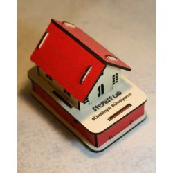Stemist Box Wooden RGB House - Thumbnail