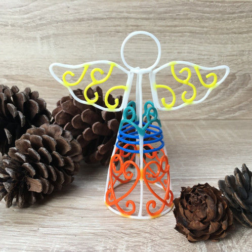 Stencil For 3D Printing Pen - Angel