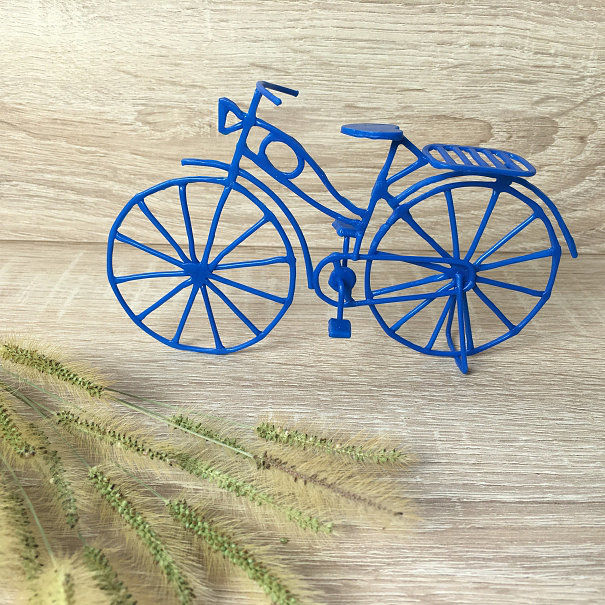 Stencil For 3D Printing Pen - Bicycle