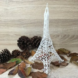 Stencil For 3D Printing Pen - Eifel Tower - Thumbnail