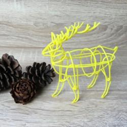 Stencil For 3D Printing Pen - Elk - Thumbnail