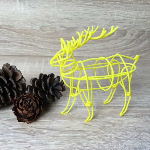 Stencil For 3D Printing Pen - Elk