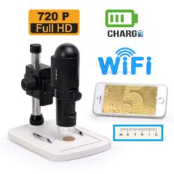 Sunline - Sunline Dijital Mikroskop Wi-Fi / USB SL18-200X