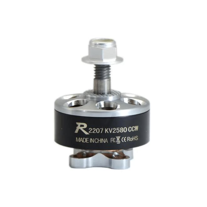 Sunnysky R2207 2207 Fırçasız Motor 2580KV 3-4S CCW - (RC Drone FPV Yarış İçin Kullanılabilir)