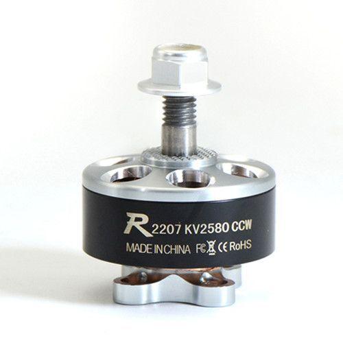 Sunnysky R2207 2207 Fırçasız Motor 2580KV 3-4S CW - (RC Drone FPV Yarış İçin Kullanılabilir)