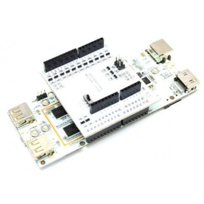 T Board to Bridge Arduino Shield to pcDuino with Level Shifter