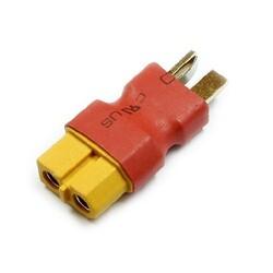 China - T Plug XT60 Dönüştürücü Dişi - Konektör Çevirici (Batarya ve Şarj Aleti için Uyumlu)