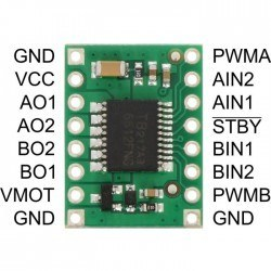 TB6612FNG Çift Motor Sürücü Kartı (Yeni Versiyon) - PL-713 - Thumbnail