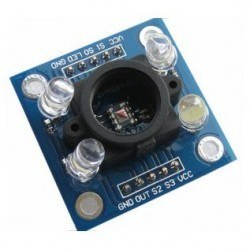 Robotistan - TCS3200 Color Sensor Board with Sensor Housing