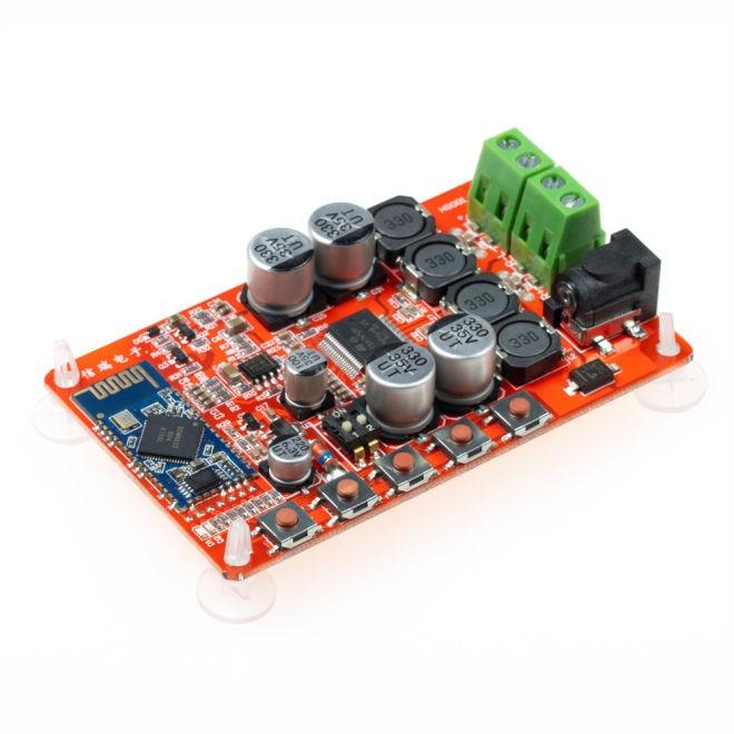 TDA7492P Kablosuz Hoparlör Alıcısı Amfi Devreli 2x25Watt Bluetooth 4.0