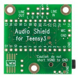 Teensy Audio Board - Thumbnail