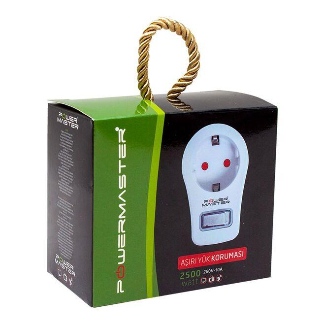 Tekli Akım Korumalı Priz (10A-2500W) - Anahtarlı