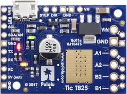 Tic T825 Step Motor Sürücü (PC-Serial-I2C-PWM-Analog) - Thumbnail