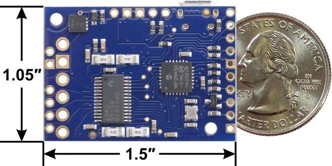 Tic T825 Step Motor Sürücü (PC-Serial-I2C-PWM-Analog)