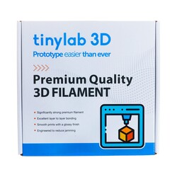 tinylab 3D 1.75 mm Blue PLA Filament - Thumbnail