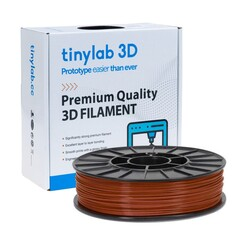 tinylab 3d - tinylab 3D 1.75 mm Brown PLA Filament