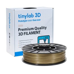 tinylab 3d - tinylab 3D 1.75 mm Gold PLA Filament
