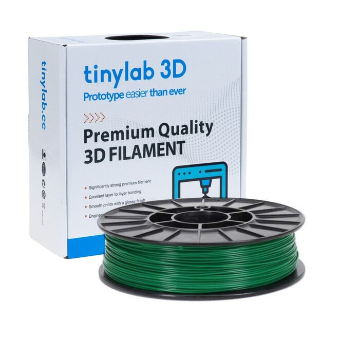 tinylab 3D 1.75 mm Pine Green PLA Filament