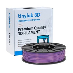 tinylab 3d - tinylab 3D 1.75 mm Purple PLA Filament