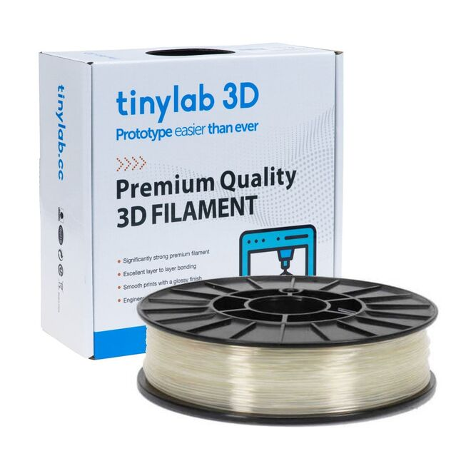 tinylab 3D 2.85 mm Cold White PLA Filament