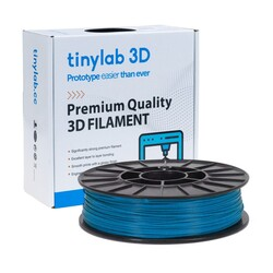 tinylab 3d - tinylab 3D 2.85 mm Light Blue PLA Filament