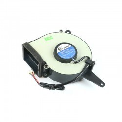 TONGDA FLW70-21 12V 2W Snail Fan - Rectangular Out - Thumbnail