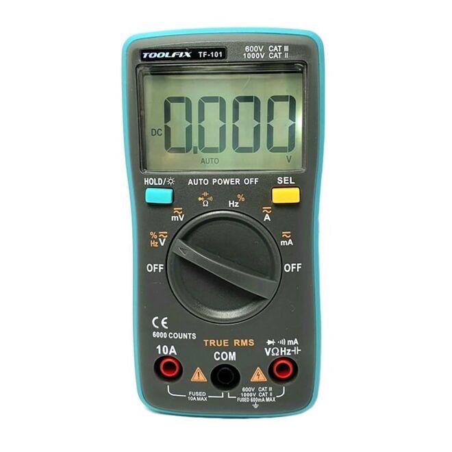 Toolfıx TF-101 Digital Multimeter
