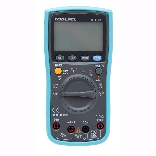 Toolfıx TF-17 Digital Multimeter