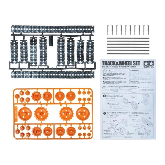 Track and Wheel Set - Palet ve Tekerlek Seti - PL-106