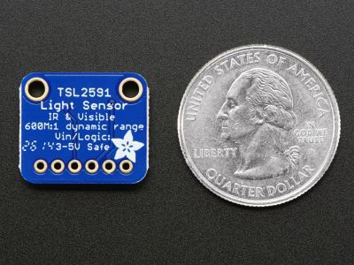 TSL2591 High Dynamic Range Digital Light Sensor