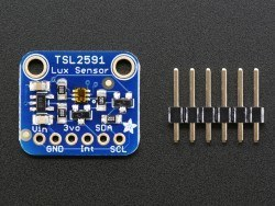TSL2591 High Dynamic Range Digital Light Sensor - Thumbnail