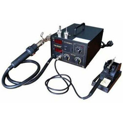 TT Technic - TT TECHNIC 862D+ Isı Ayarlı Sıcak Hava Üflemeli Dijital Havya İstasyonu