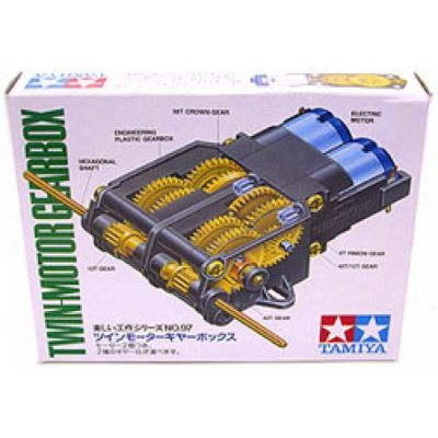 Twin-Motor Gearbox Kit - Tamiya 70168