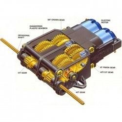Twin-Motor Gearbox Kit - Tamiya 70168 - Thumbnail